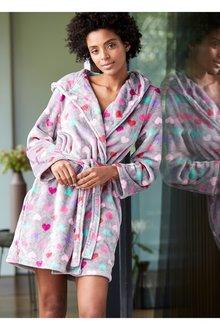 Next Heart Print Robe