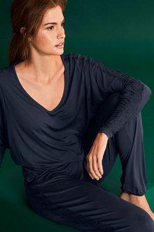 Next Lace Sleeve Pyjamas