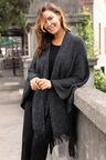 Plus Size - Sara Tassel Drape Cardi