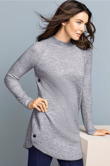 Capture Button Side Longline Jumper