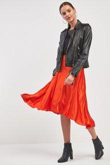 Next Dip Hem Skirt