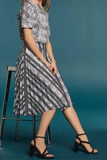 Next Pleat Skirt - Tall