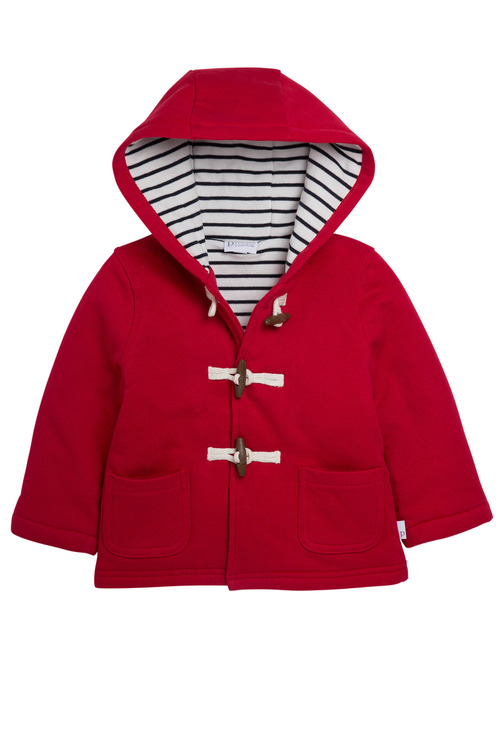 Pumpkin Patch Padded Jacket with Toggles