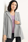 Capture Hooded Longline Cardi