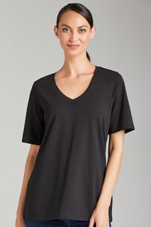 Capture Slouchy V Neck Tee - 221713