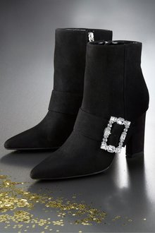 Next Feature Heel Ankle Boots