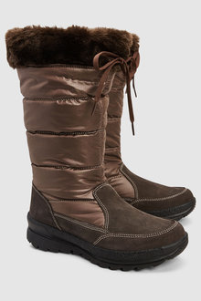 Next Knee High Winter Boots