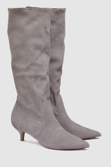 Next Suede Knee High Boots