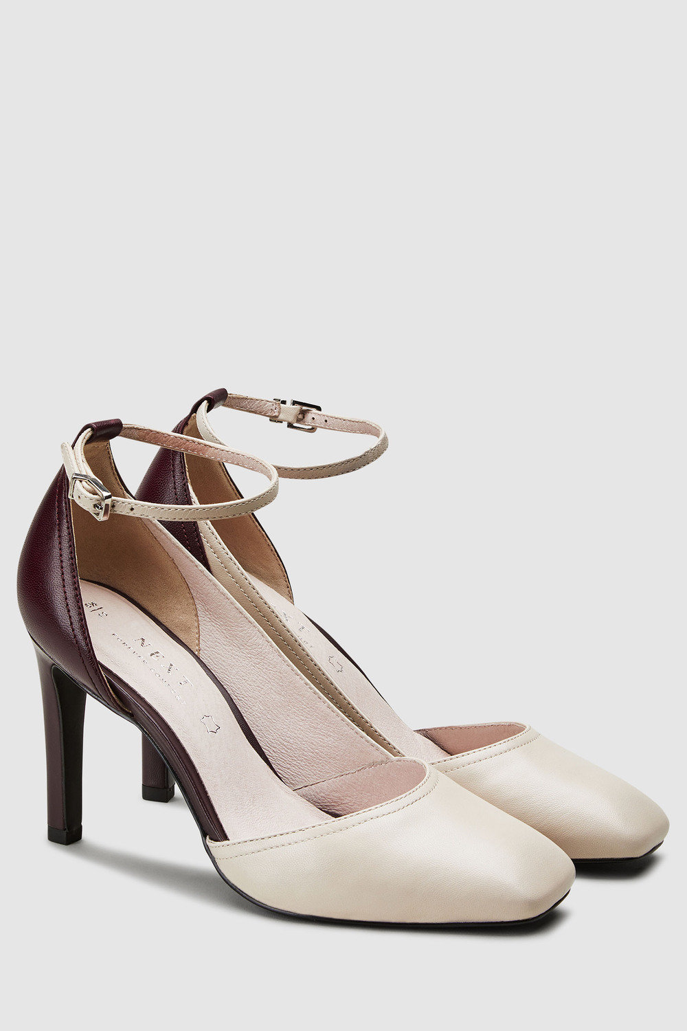 1e5adc53b54 Next Leather Forever Comfort Asymmetric Cut Two Part Shoes Online ...