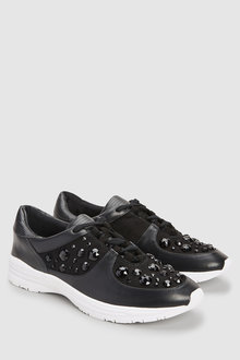 Next Embellished Trainers