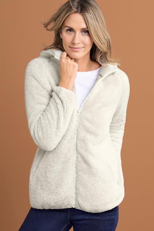 Capture Fleece Hooded Zip Up Jacket