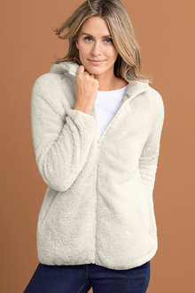 Capture Fleece Hooded Zip Up Jacket