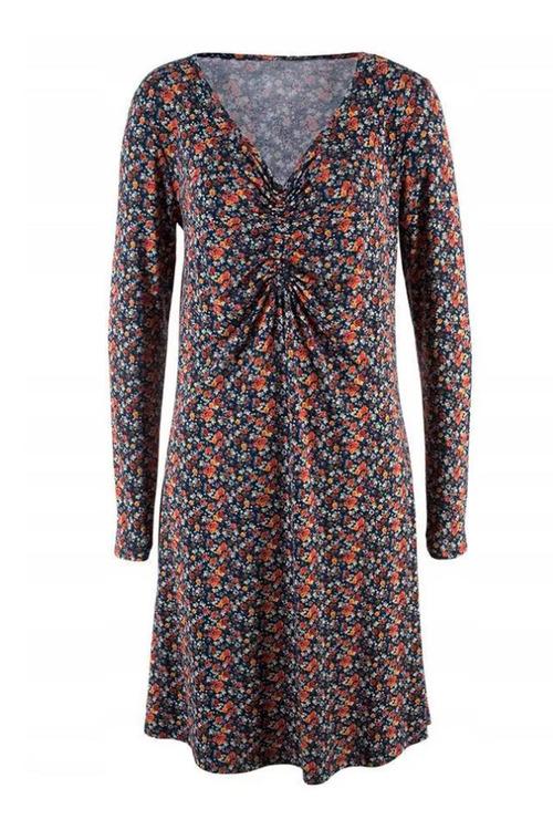 Urban V Neck Tunic Dress