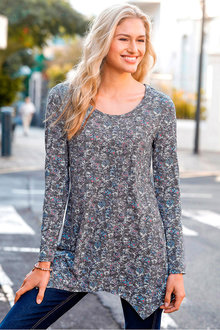 Urban Floral Printed Tunic