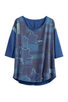 Urban Printed Top - 221779