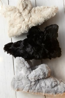 Next Faux Fur Turn Down Slipper Boots