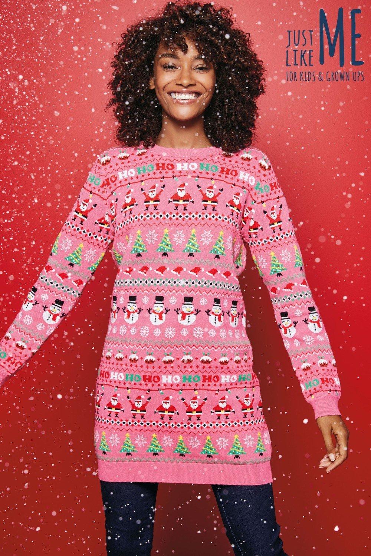 484de4b4d4259c Next Womens Christmas Wrapping Paper Tunic Online