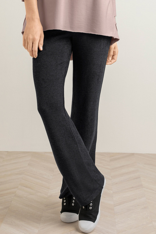 Capture French Terry Wide Leg Trackpant