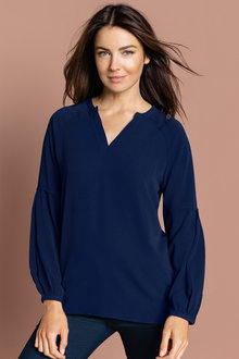 Capture Blouson Sleeve Blouse - 221837