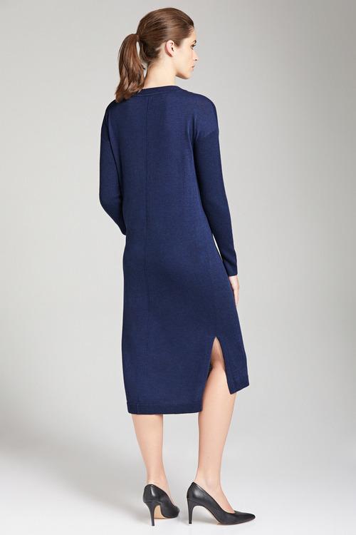 Capture Merino Blend Dress