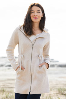 Capture Hooded Coat
