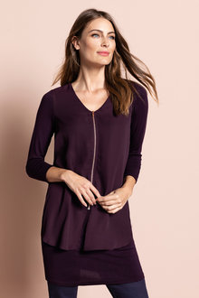 Capture Zip Front Tunic