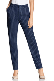 Capture Pleat Front Pinstripe Pants
