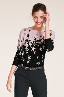 Heine Star Print Pullover