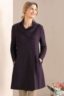 Grace Hill Shawl Collar Cardi Coat