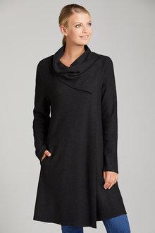 Grace Hill Shawl Collar Cardi Coat - 221928