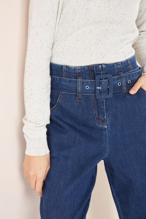 Next Belted Taper Jeans