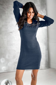 Urban Sequin Jumper Dress - 222024