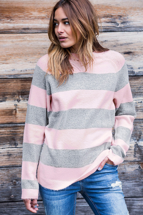 Urban Striped Jumper