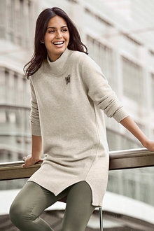 Urban High Neck Tunic