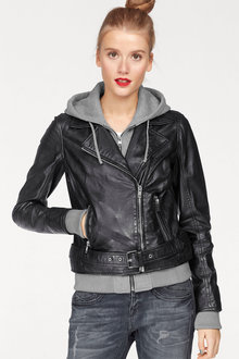Urban Faux Layer Biker Jacket - 222066