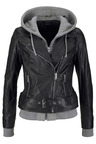 Urban Faux Layer Biker Jacket