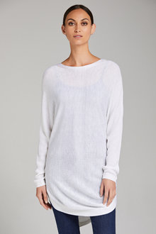 Capture Ribbed Batwing Sweater - 222070