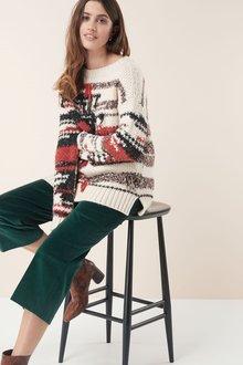 Next Fringe Sweater
