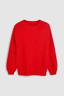 Next Balloon Sleeve Sweater