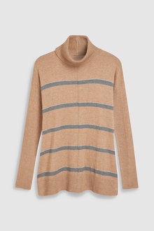 Next Luxe Roll Neck Sweater