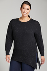 Plus Size - Sara Asymmetric Sweater