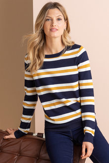 Capture Stripe Sweater