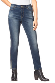 Euro Edit Side Trim Denim Jeans