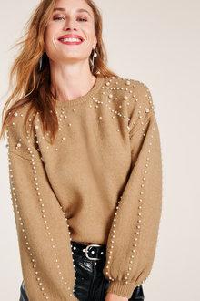 Heine Pearl Detail Pullover - 222175
