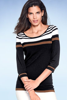 Heine Striped Slim Pullover
