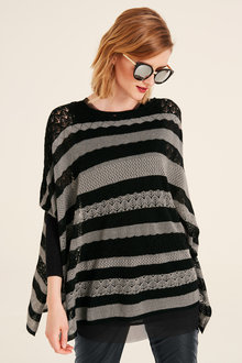 Heine Pointelle Oversize Sweater