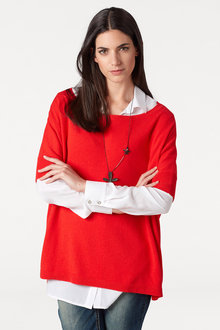 Heine Oversized Short Sleeve Pullover