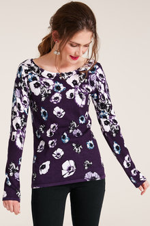 Heine Floral Print Knit Sweater - 222181