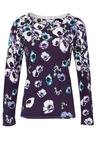 Heine Floral Print Knit Sweater