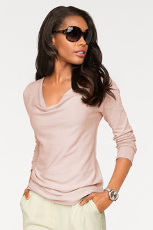 Heine Cowl Neck Light Sweater